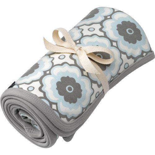 Petunia Pickle Bottom - Organic Stroller Blanket - Sleepy Santorini