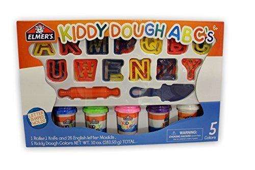 Elmer's Kiddy Dough Abc's Amazon Best Seller