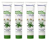 Herbacin wuta kamille 82110 Skincare Cream + Aloe Vera and Vitamin E Tube 75 ml Pack of 4