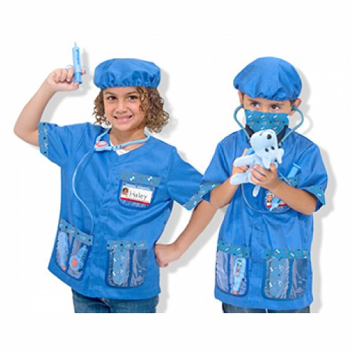Veterinarian Role Play Costume Set front-28082