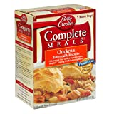 Betty Crocker Complete Meals, Chicken & Buttermilk Biscuits, 27-Ounce Boxes (Pack of 3) ~ Betty Crocker Dry Meals
