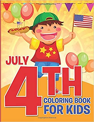 July 4th Coloring Book for Kids