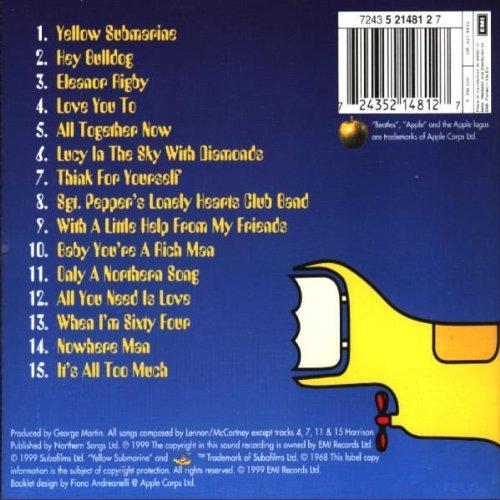 The Beatles Album 171 Yellow Submarine Songtrack 187