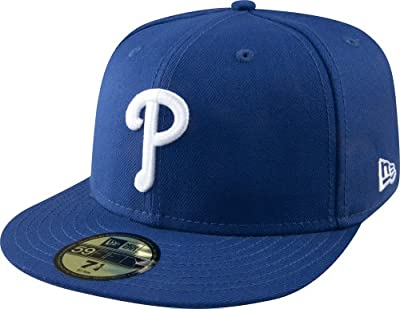 MLB Philadelphia Phillies Light Royal with White 59FIFTY Fitted Cap