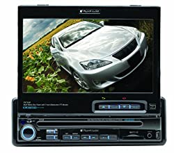 See Planet Audio P9755B 7-Inch Single-Din In-Dash Receiver with Motorized Flip-Out Widescreen Touchscreen Monitor Details