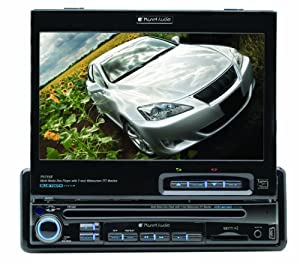 Planet Audio P9755B 7-Inch Single-Din In-Dash Receiver with Motorized Flip-Out Widescreen Touchscreen Monitor
