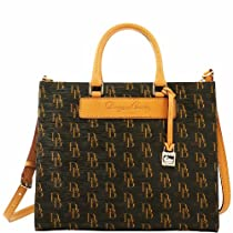 Dooney & Bourke 1975 Signature Janine Satchel