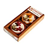 Salebrations Perfumed Terracotta Candles With Natural Dry Flowers Gift Packs Type 3