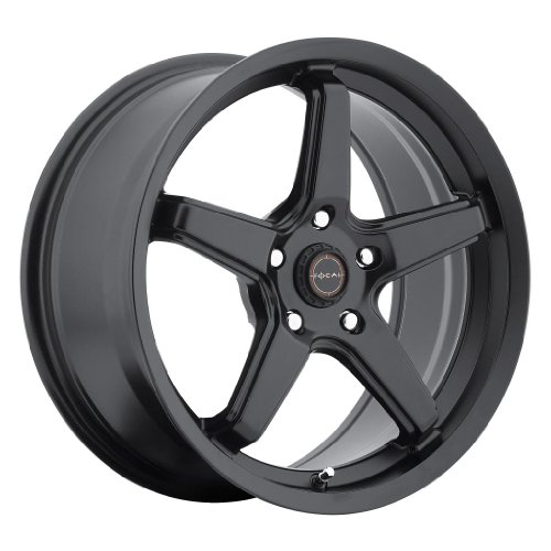 Focal 429SB High V Satin Black Wheel (18x8