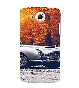 PrintVisa Vintage Car Design 3D Hard Polycarbonate Designer Back Case Cover for Samsung Galaxy Mega 5.8