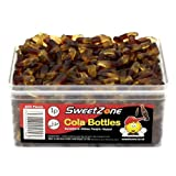 SweetZone 100% Halal Jelly Sweets - Cola Bottles Tub of 600pcs