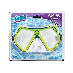 Buy aqua leisure ind inc em-1141 Adult, Dual Lens Swim Mask by Aqua Leisure