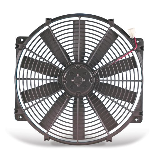 """Flex-A-Lite 11224 Black 12"""" 24V Reversible Electric Fan"""