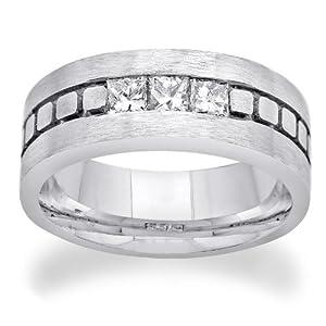 14K WHITE GOLD 0.75CTW DIAMOND RING