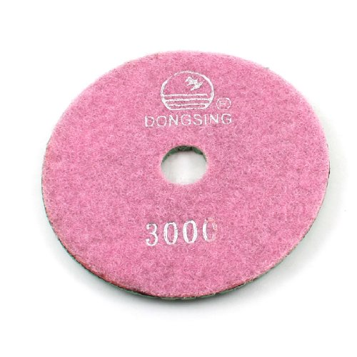 0.5cm Thick Polishing Pad 3000 Grit Pink Green for Concrete Stone Granite