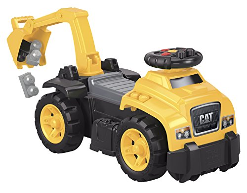 Mega Bloks Ride Caterpillar Excavator