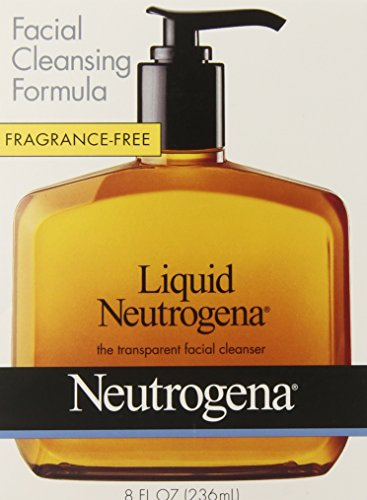 Neutrogena Fragrance Free Liquid, Facial Cleansing Formula, 8 Ounce (Hypo Allergenic Facial Cleanser compare prices)
