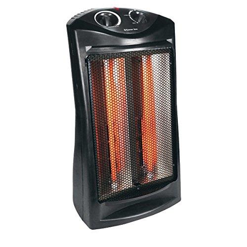 Comfort Zone CZQTV007BK Radiant Quartz Tower Heater (Indoor Radiant Heater compare prices)
