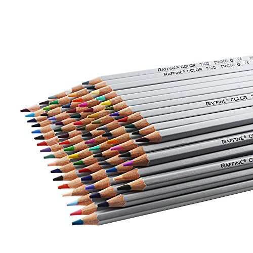 Premier Soft Core Art Colored Pencils of Marco 72pc