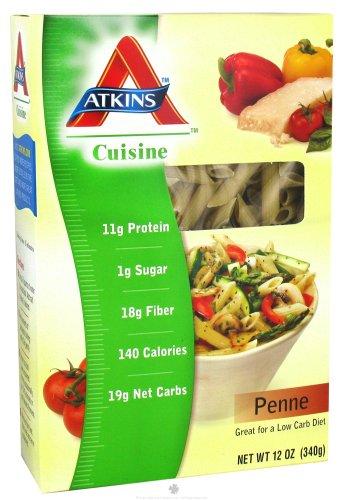 Low carb pasta discount for Atkins cuisine penne pasta 12 oz 340 g