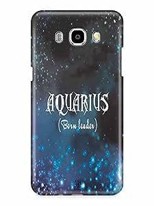 YuBingo Aquarius (Born Leader) Designer Mobile Case Back Cover for Samsung Galaxy J7 2016