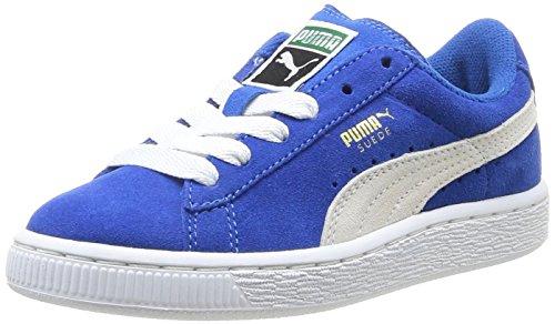 Puma - Suede Jr, Sneakers infantile, Azul (Bleu (Snorkel Blue/White)), 31