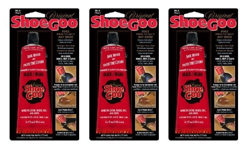 Shoe Goo Black 3.7 Oz Footwear Adhesive Repair