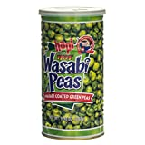 Hapi Hot Wasabi Peas, 9.9-Ounce Tins (Pack of 4) ~ HAPI