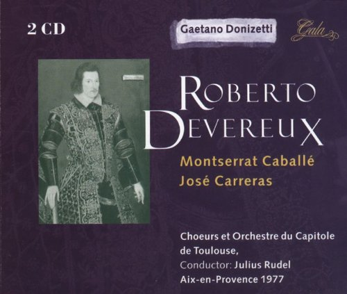 Roberto Devereux(Caballe - Jose Carreras) - Donizetti - CD