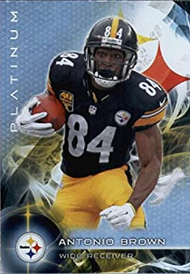 2015 Topps Platinum #57 Antonio Brown Pittsburgh Steelers Football Card