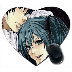 Awwsme Two Carttoon Friend Heart Mousepad