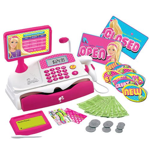 518Grvu xjL Barbie Shopping Spree Money Register