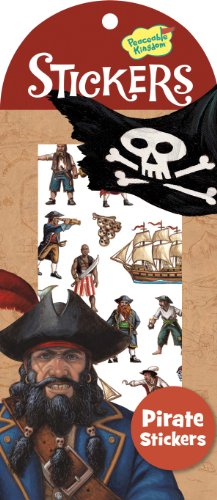 Peaceable Kingdom Pirate Sticker Pack