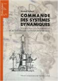 Commande des systmes dynamiques : Introduction  la modlisation et au contrle des systmes automatiques