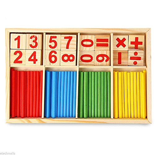 Montessori Mathematical Intelligence Stick Preschool Educational for kids (Devils Arithmetic Dvd compare prices)