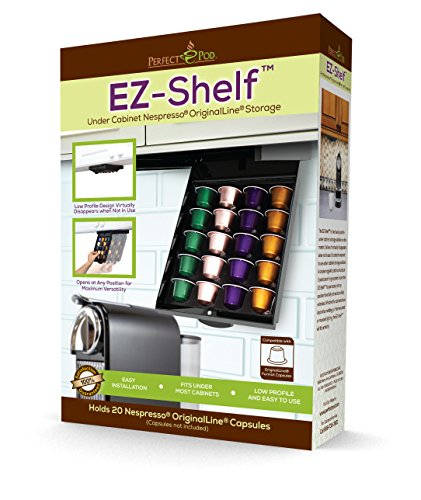 네스프레소 오리지널 라인 캡슐 선반 Perfect Pod EZ-Shelf for Nespresso