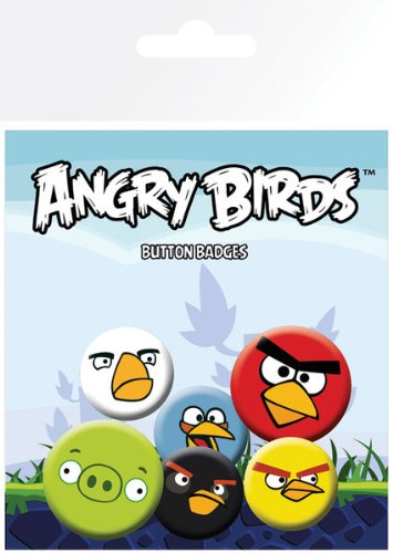 GB eye LTD,Angry Birds Mix - Pack de Chapas