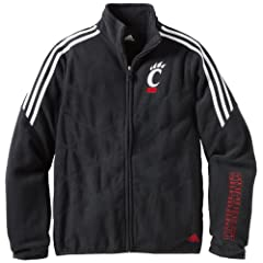 NCAA Cincinnati Bearcats Ladies Full Zip Micro-Fleece Jacket by adidas