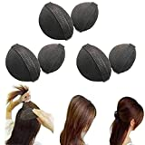 Polytree 6pcs Women's Bump It up Volume Hair Base Styling Magic Updo Tuck Insert Tool