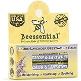 Beessential Lemon Lavender All-natural Beeswax Lip Balm