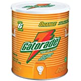 IMAGE OF Gatorade - Orange Powder - 51-oz. Canister (makes 6 gallons)