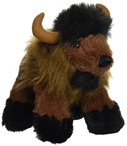 "Purr-Fection Max Junior Snuggle Ups Buffalo 8"" Plush"