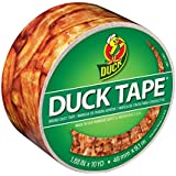 Duck Brand 283700 Crispy Bacon Printed Duct Tape, 1.88 Inches x 10 Yards, Single Roll
