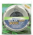 Sunforce 81300 Stainless Steel Solar...