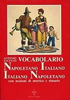 Vocabolario Napoletano Italiano e Italiano…