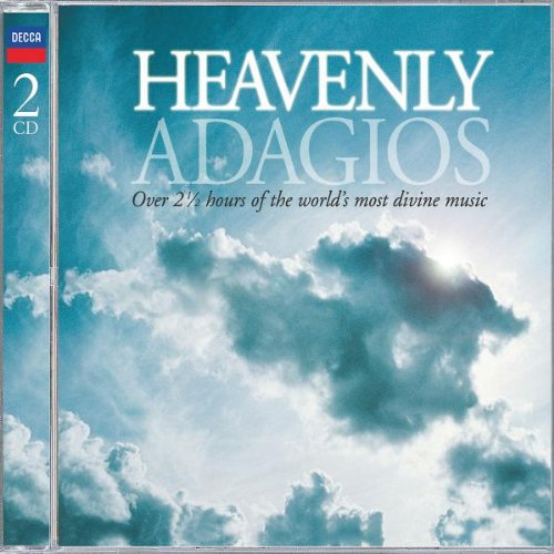 Heavenly Adagios by Johann Sebastian Bach,&#32;Jules Massenet,&#32;Gabriel Faure,&#32;Erik Satie and Leo Delibes