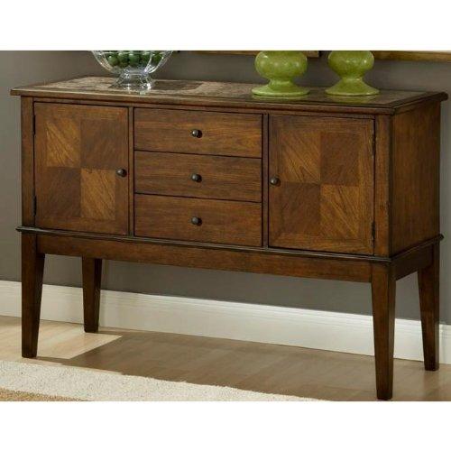 Cheap Hillsdale Furniture 4175-850 Cannes Sideboard, Dark Brown (4175-850)