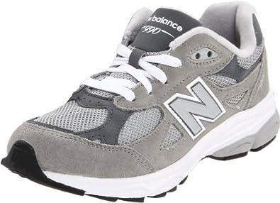 (双冠)新百伦New Balance KJ990 Lace-Up Running 大小童顶级跑鞋 灰色 折后$38.08