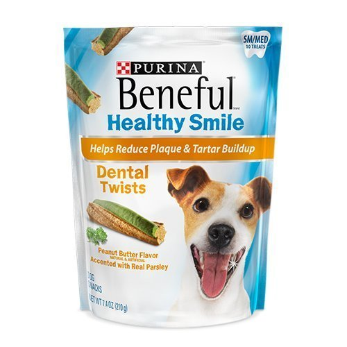 Beneful-Healthy-Smile-Dental-Dog-Snacks-Twists-For-Small-Medium-Dogs-10-Treats-Per-Package-Pack-of-2