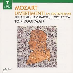 Koopman - Mo-Tsuaruto:Deivueruteimentoshi - Amazon.com Music